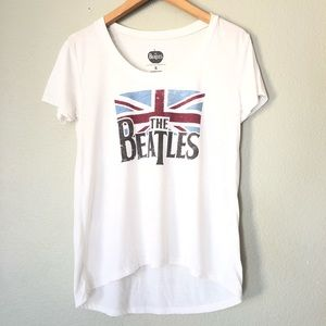 The Beatles Graphic Tee T-shirt England Flag S